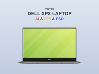Vector Dell Laptop