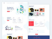 Simple Agency PSD Template