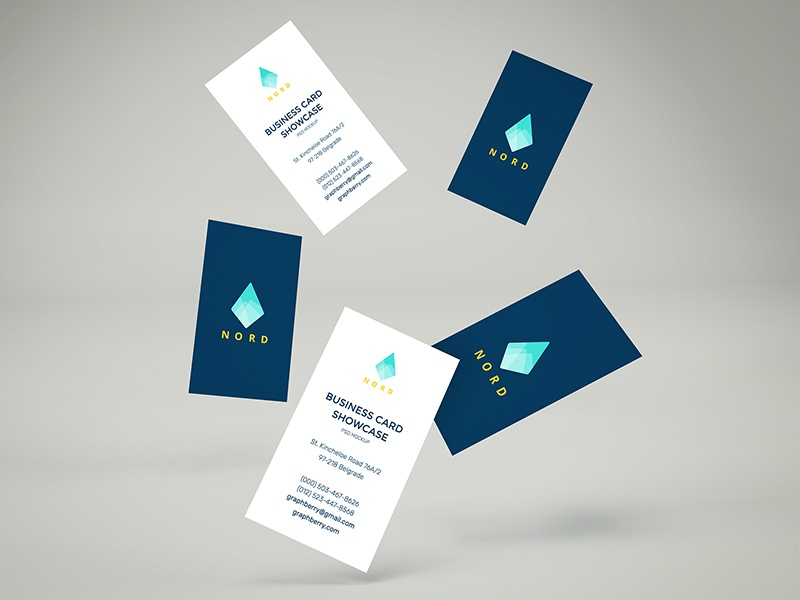 Falling Business Cards Mockup free showcase design mockup psd mockups business card