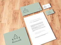 Stationery Mockup On Wooden Floor