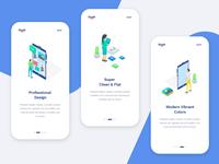 App OnBoarding Screens