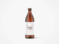 Beer Bottle PSD Mock-Up