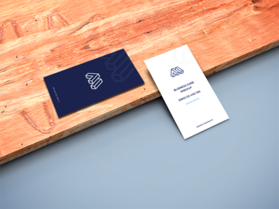 Business Cards on Wooden Plank Mockup free psd freebie free download showcase mock-up mockup free business card