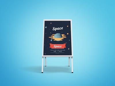 Sidewalk Sandwich Board Mockup promotion branding free psd free download frame sandwich board mockup
