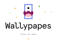 Wallypapes: Press for move