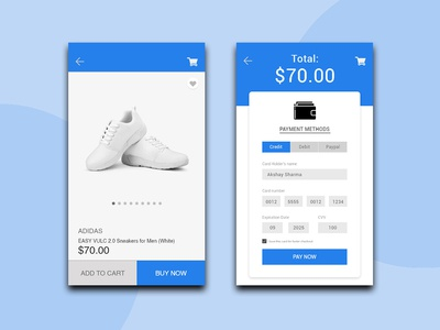 Daily Ui l Credit Card Form  #002