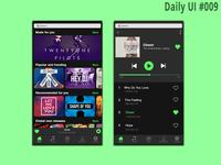 Daily Ui #009 I Music Player