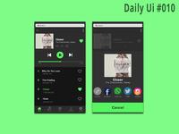 Social Share l Daily Ui #010