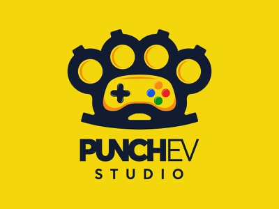 Punchev Studio logo redesign illustration graphicdesign uxdesign uidesign uiux studio punchev rebranding logodesign logo