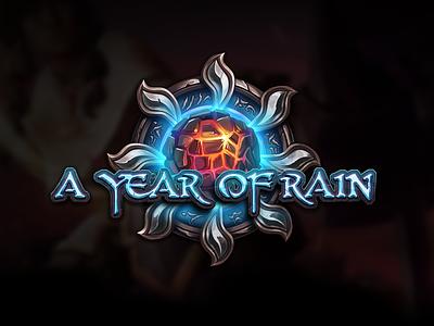 A Year Of Rain symbol studiopunchev game ux illustration logo icons gui interface ui