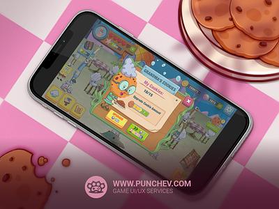 SpongeBob: Krusty Cook-Off design studiopunchev game ux gui interface icons ui