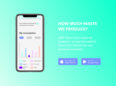 Mobile app - waste consumption waste food app mobile