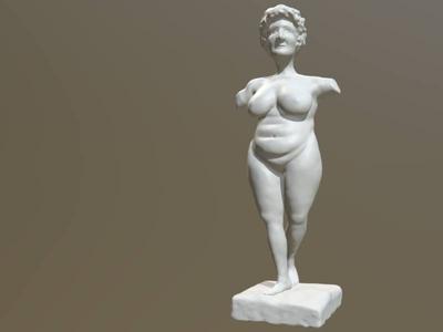 Body positive Venus