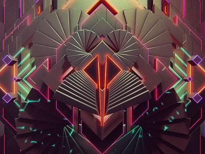 Kzk1 intro logo lines glowing backdrop background video animation