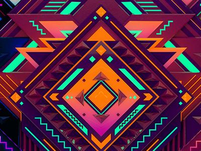 Adb1 pattern art geometry project mosaic cloud creative adobe
