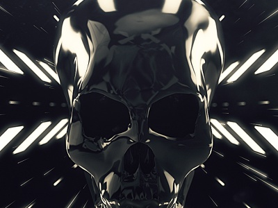 Royksopp 2015 Tour Visuals. Skulls Intro art white black background scene music graphics motion skull visuals tour royksopp