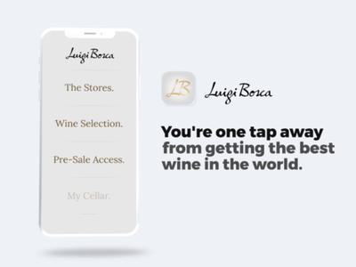 Luigi Bosca App Log-In