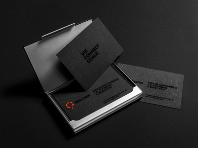 Qaccion Business Cards