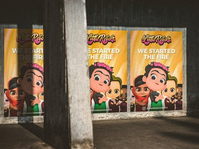 Little Rebels Promo Poster