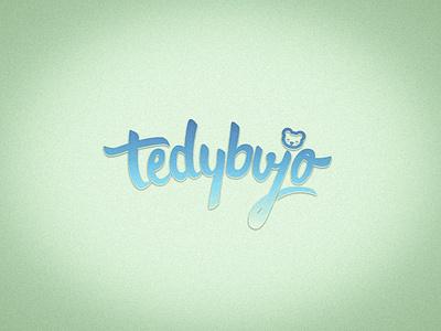 Tedybujo Lettering Logo vector little rebels design illustration art direction logos kids illustration uruguay logo designer logo design logo lettering design lettering art lettering artist tedybujo enterpreneur plushies kids lettering logo lettering