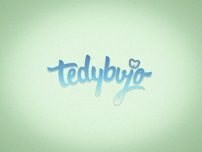 Tedybujo Lettering Logo