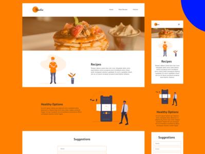 Landing Page | Daily UI 3