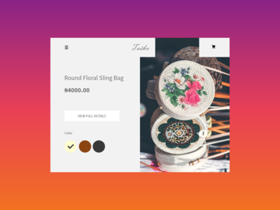 Single Product | Daily UI 12