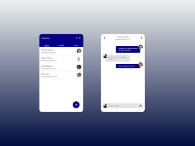 Direct Messaging | Daily UI 13