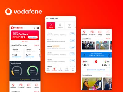Vodafone Redesign Concept