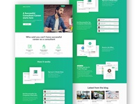 Consultant vue Landing page