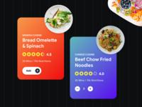 Food Cards Exploration