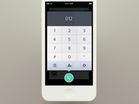 Keypad with GIF animation