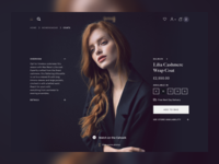 PDP exploration design ux fashion clothes shop ui web ecommerce shopping pdp