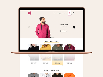 Design-Kaf Website UI/UX wear brand identity cloths brand ux ui website graphic design branding