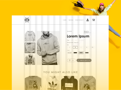 Design-Kaf Website Ui/UX Guides ecommerce cloths wear ux ui website branding graphic design
