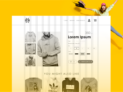 Design-Kaf Website Ui/UX Guides ecommerce cloths wear ux ui website branding graphic design