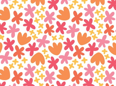 Happy Day Floral Pattern