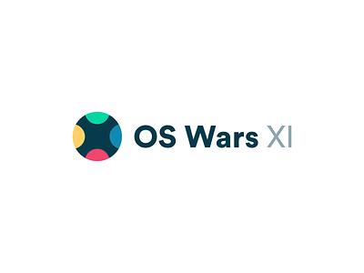 OS Wars 6 ux ui minimal flatdesign typography logo branding flat vector design os operating system