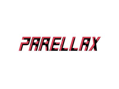 Parellax wordmark logo wordmark logo illustration minimal typography branding concept wordmark brandidentity parellax blend modes blend mode branding flat vector design