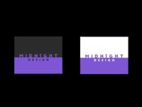 Midnight Design wordmark