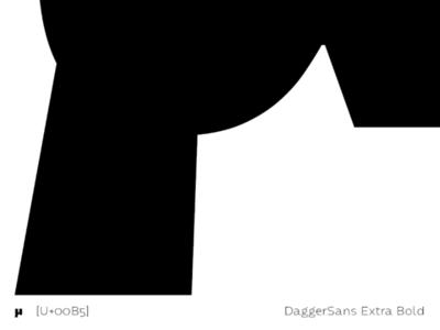 DaggerSans curves