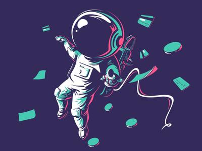 astro dude freelancer coverdesign cover artwork cover art vectorillustration vector art flag design editorial illustration character design illustrator illustration