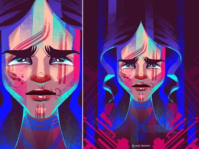 Portrait portrait illustration portrait freelancer girl women editorial illustration character design illustrator illustration
