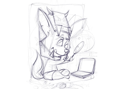 Fenix halloween freelance illustrator character illustration procreate character design illustrator illustration