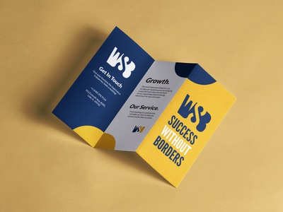 Branding | SWB (Success Without Borders) print graphic logo design branding logo logo design graphic  design design branding
