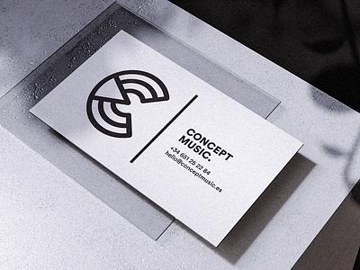 Identity | Concept Music identity business cards business card design print logo design branding logo design logo graphic  design graphic design branding