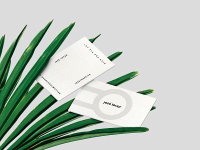 José Tovar | Branding identity business cards business card design logo design branding logo design logo graphic  design graphic design branding