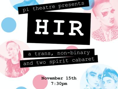 HIR Trans Cabaret Poster