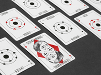 Atomic Playing Cards
