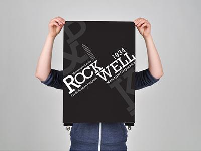 ROCKWELL SPECIMEN SHEET type font typography poster fold mail out specimen sheet